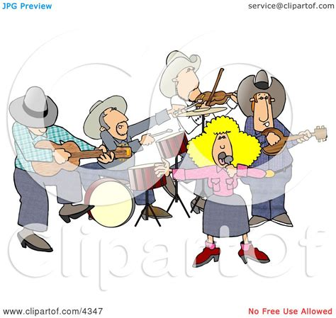 country clipart country western band country clipart by