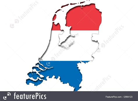netherlands map and flag picture of outline map of netherlands with flag