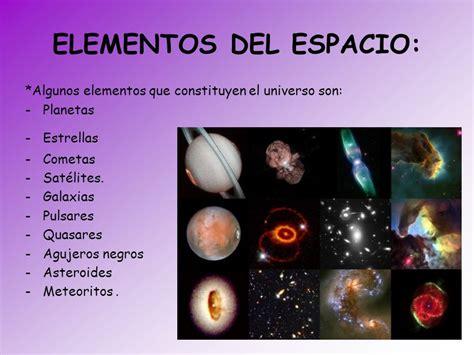 imagenes del universo y sus elementos el universo ppt descargar