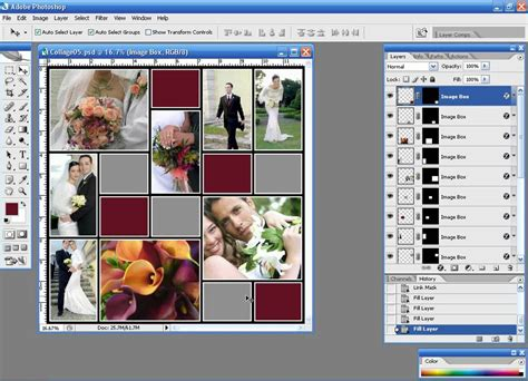 collage templates for adobe photoshop 60 collage template pack for adobe photoshop youtube