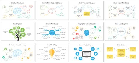 mind map template powerpoint free powerpoint mind map template mind mapping powerpoint