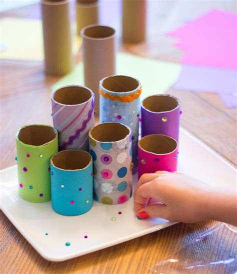 Kids Craft Week Diy Desk Organizer Design Improvised Toilet Desk Organizer
