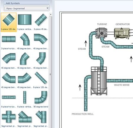 visio plumbing shapes p id software get free symbols for piping and