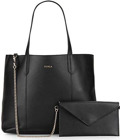 Furla 8714 Semprem Promo time limited furla pouch with leather tote buyma