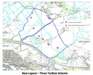 resubmission of shepham wind farm planning application