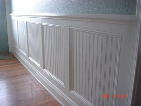 Wainscoting Options by The Texture With The Wainscoting This Is What Needs