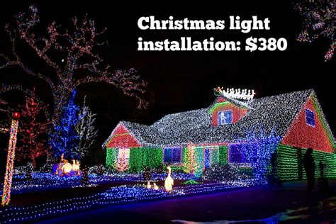 best 28 how much is christmas light installation how