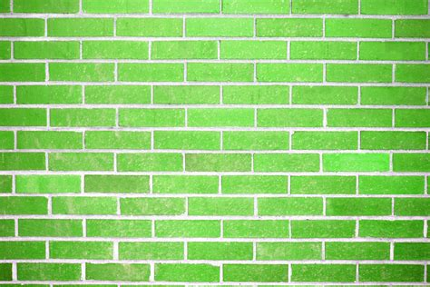 lime green wall lime green brick wall texture picture free photograph
