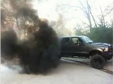 f250 diesel black smoke - YouTube Lifted Duramax Diesel Blowing Smoke