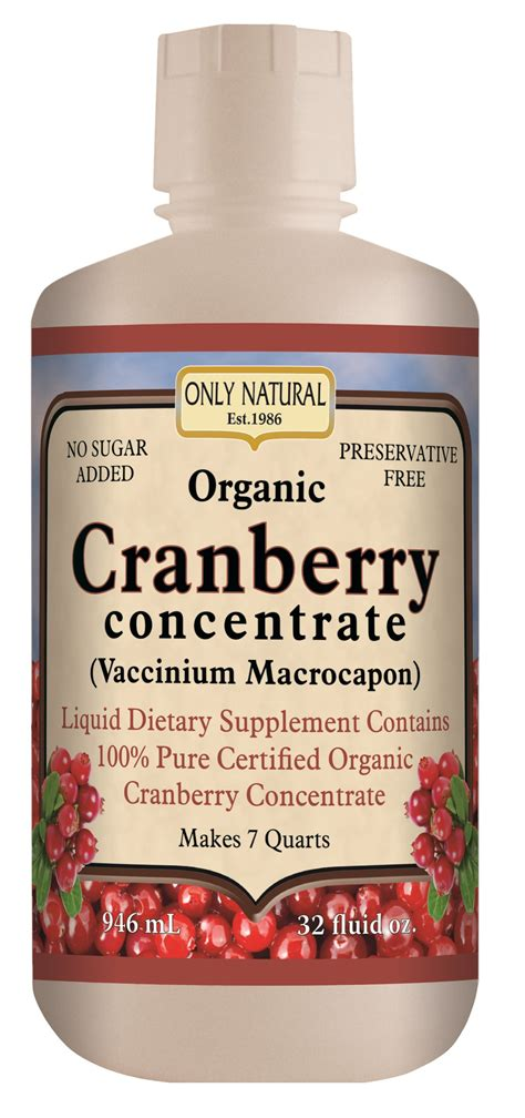 Cranberry Concentrate Pills Detox by Organic Cranberry Concentrate 32 Fl Oz Pills