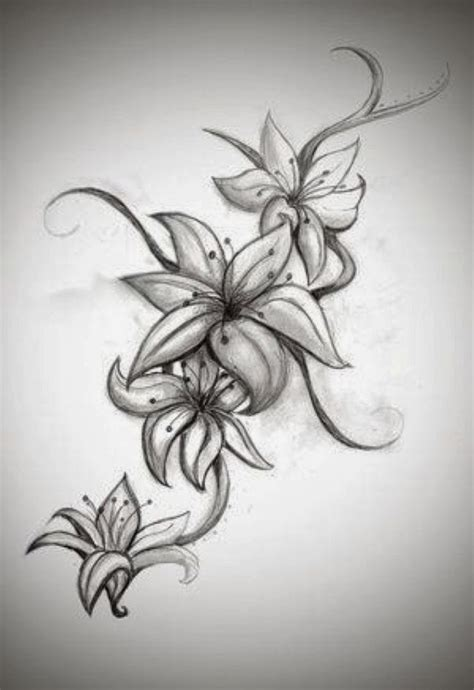 black and gray flower tattoos 30 hibiscus black and white tattoos