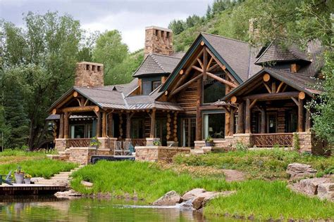 Colorado Style Home Plans by Colorado Mountain Home In Aspen Custom Home Magazine