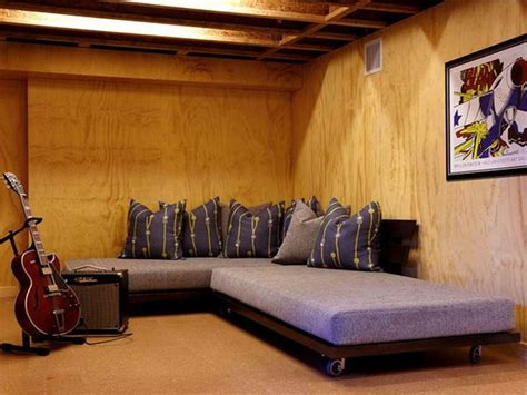 Ways To Decorate An Unfinished Basement by Unfinished Basement And Unfinished Basement Design