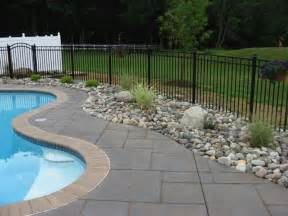 landscaping around pool best 25 pool landscaping ideas on pinterest