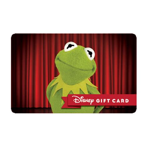 Stage Gift Card Balance - your wdw store disney collectible gift card kermit on stage