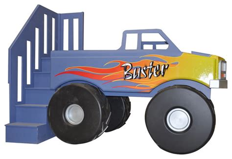 truck beds for kids monster truck loft bed traditional kids houston by