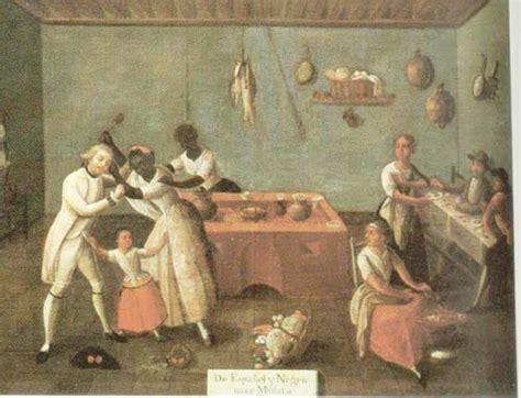 mestizo castas de pinturas mas historia la sociedad hispanoamericana