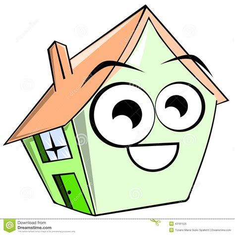 house design cartoon isolated house cartoon stock illustration illustration of design 43181525