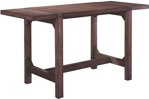 Drop Leaf Counter Height Table Bedford Avenue Drop Leaf Extendable Counter Height Wine Table 8615 504 Broyhill
