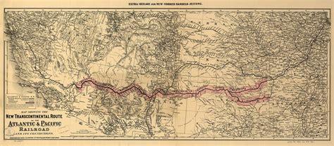 missouri pacific railroad map atlantic and pacific railroad