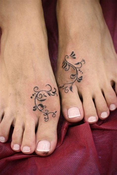 tattoo pictures for your foot interesting simple painted foot tattoo tattoos