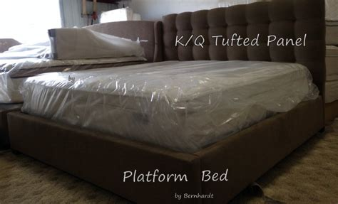 King Size Upholstered Beds For Sale King And Size Upholstered Bernhardt Bed Brand New