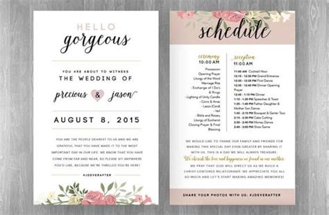 how to plan a wedding reception timeline weddbook