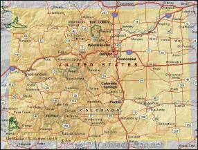 satellite maps colorado colorado map and colorado satellite images