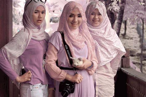 Hijan Cenel Black 3 In 1 muslima on