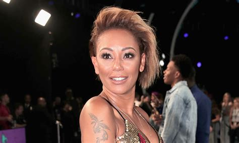 B Skin mel b defends herself after skin bleaching accusations