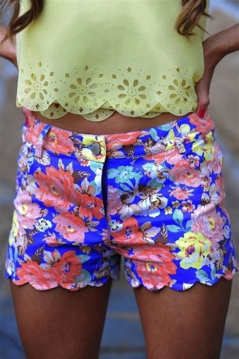 30182 Summer Lace Casual Top 37 Best High Waisted Shorts Images On Clothes