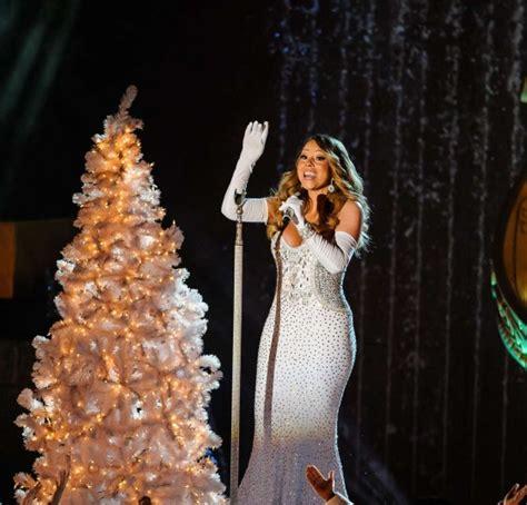 mariah carey 2013 rockefeller center christmas tree