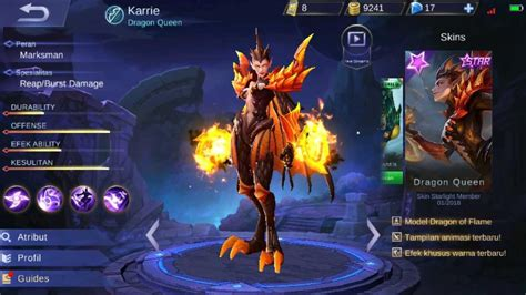 karie mobile legend 8 marksman storng lover mobile lagend steemit