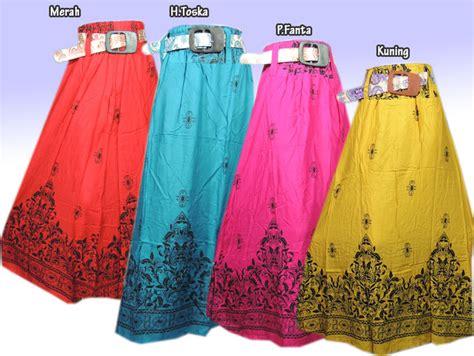 Jual Rok Muslimah Model Payung Rk6362 Baru jual rok muslimah batik model terbaru 3 klambi klambi