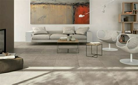 revetement sol en beton idees  astuces