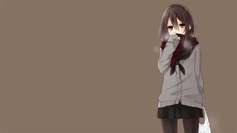 anime girl school uniform wallpaper yamasuta original characters school uniform simple