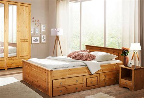 bett und kleiderschrank kaufen home affaire schlafzimmer set 171 hugo 187 3 tlg bett 140cm