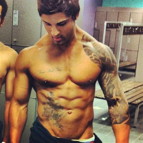 chest tattoo bodybuilding rare zyzz at gym zyzz pinterest guys we and distance