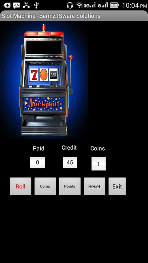 machine for android slot machine application in android free source code tutorials and articles