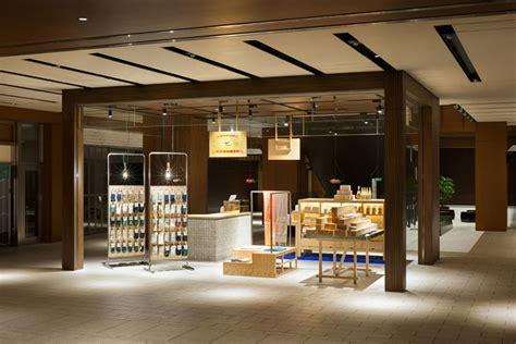 designboom yusuke seki nakagawa masashichi shoten gai retail installation by