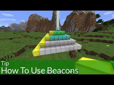 How To Make A Beacon Light Up by How To Make Beacon Light Up In Minecraft