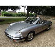 For Sale – 1986 ALFA ROMEO SPIDER  Classic Cars HQ