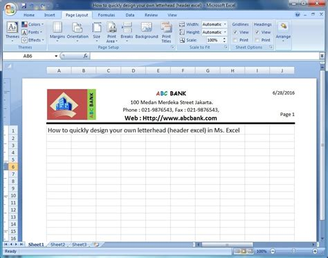 excel tutorial header microsoft excel training how to quickly design your own