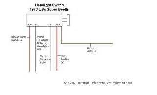 Car Headlight Circuit Diagram Universal Headlight Switch Wiring Diagram Auto Parts