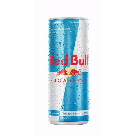 energy drinks and bull energy drink sugar free 250ml woolworths