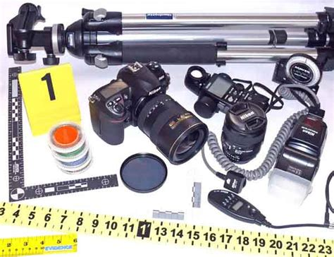 Forensic Photography Supplies by Crime Photography Kit
