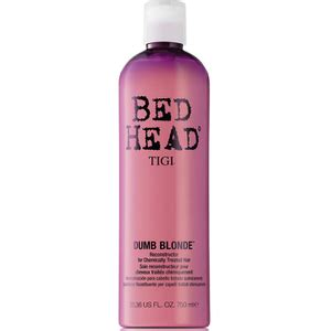 bed head dumb blonde shoo view all tigi beauty products free delivery