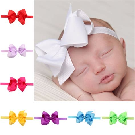 infant baby hair bows newborn hair bow child hair bands hairbow toddler hairbands in hair