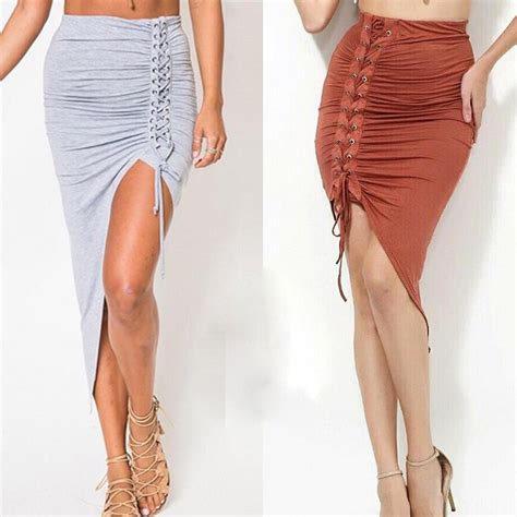 buy wholesale mid calf pencil skirt from china mid