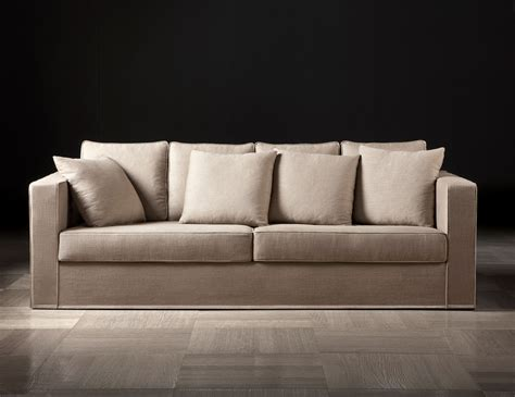 italian fabric sofas nella vetrina helmut sofa upholstered in sand taupe brown